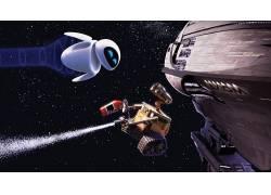 瓦力,皮克斯动画工作室,电影,科幻小说,明星,飞船,机器人29334