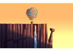 气球,艺术品,Up(电影)355821