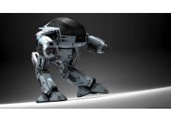 电影,ED-209,机械战警,数字艺术,机器人135253