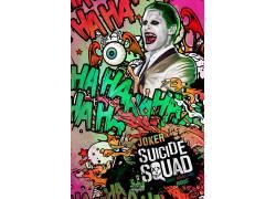滑稽角色,流行艺术,自杀队,电影海报,杰瑞德莱托423590