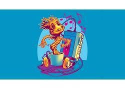 漫威漫画,漫画,银河护卫队,宝贝Groot,惊奇的电影宇宙571106