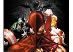 漫威漫画,电影,美国队长,钢铁侠,蜘蛛侠,复仇者,内战(漫画),漫