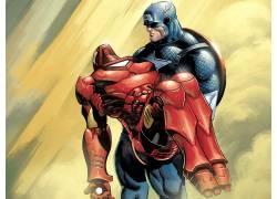 漫威漫画,电影,钢铁侠,美国队长,复仇者,漫画书158674