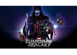 漫威漫画,银河护卫队,Gamora,Drax驱逐舰,星主,格鲁特,火箭浣熊,