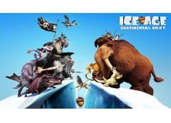 电影,冰河世纪,冰河时代:大陆漂移,动画电影52537