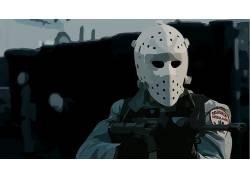 热(电影),1995年,动画片,Hockeymask,M4396617