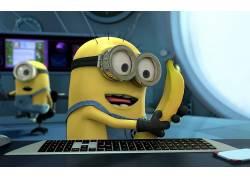 爪牙,卑鄙的我,电影,香蕉,键盘213574