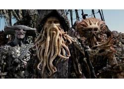 电影,加勒比海盗:死者的胸部53673