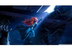 电影,勇敢,迪士尼,动画电影,红发52266