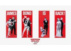 电影,占士邦,来自俄罗斯的爱情,电影海报52622