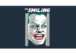 数字艺术,面对,滑稽角色,电影,闪亮,蝙蝠侠,微笑,交叉,幽默,杰克