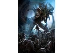 数字艺术,外星人,生物,Xenomorph,外星人(电影)615260