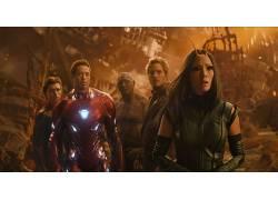 明星领主,蜘蛛侠,Drax the Destroyer,钢铁侠,螂,奇迹电影宇宙,复