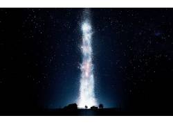 星际(电影),电影,晚,空间,明星,天空161873
