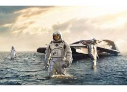 星际(电影),电影,马修・麦康纳,水,宇航服,科幻小说,未来168723