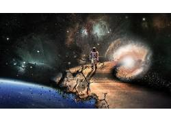 星际(电影),路,时间,地球,虫洞,空间,太空艺术310498