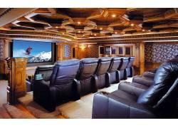 家庭影院,电影院,室内设计121269