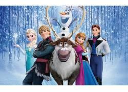 冷冻(电影),安娜公主,埃尔莎公主,奥拉夫,电影,克里斯托夫(冰