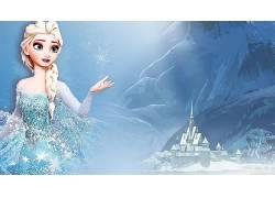 埃尔莎公主,冷冻(电影),电影,动画电影,迪士尼56977