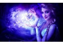 埃尔莎公主,冷冻(电影),电影,艺术品34282