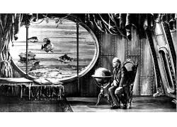 儒勒・凡尔纳,幻想艺术,儒勒凡尔纳的神话世界,电影,单色,酿酒,老