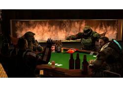 光环5:守护者,大师长,厄运(游戏),司令Shepard,质量效应,死角,
