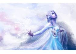 埃尔莎公主,冷冻(电影),艺术品,妇女264328
