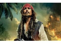 加勒比海盗,电影,约翰尼・德普213536