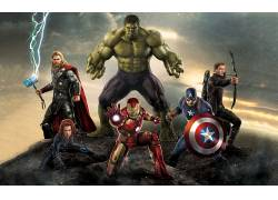 复仇者联盟:奥创时代,复仇者,雷神,废船,美国队长,黑寡妇,鹰眼,
