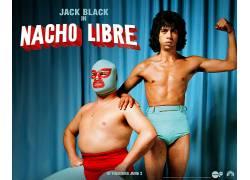 Nacho Libre,电影海报,Lucha Libre,杰克布莱克,赫克托希门尼斯11