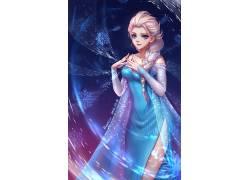动画片,冷冻(电影),埃尔莎公主,粉丝艺术531972