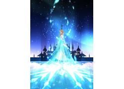 动画片,冷冻(电影),埃尔莎公主,粉丝艺术531983