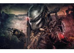 外星人与掠夺者,捕食者(电影),科幻小说,头盔,数字艺术212837