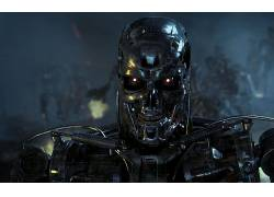 T-800,终结者,科幻小说,电影,内骨骼178706