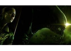 Xenomorph,外星人,外星人(电影),异形:隔离,视频游戏,生物,妇