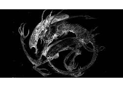 Xenomorph,外星人,外星人(电影),科幻小说,艺术品31075