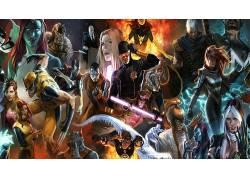 X战警,金刚狼,漫威漫画,电影,艺术品34323