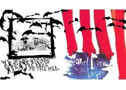 亨特S.汤普森,恐惧和厌恶在拉斯维加斯,迷幻,艺术品,电影,拉尔夫