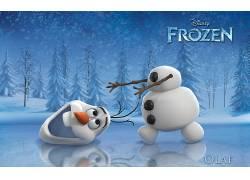 奥拉夫,冷冻(电影),动画电影,电影,迪士尼95212