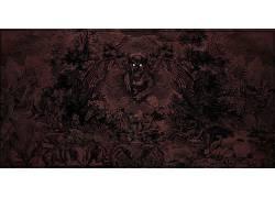 黑暗,动物,幻想艺术,艺术品397748