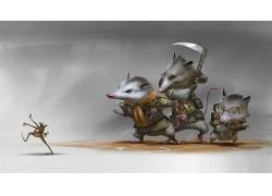 动物,艺术品,数字艺术,鲁迪西斯万托,镰,插图,侦察兵,玩具,机,Com