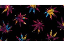 麻,数字艺术,植物,树叶239134图片
