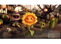 数字艺术,植物,植物大战僵尸,视频游戏,树木,草245999图片
