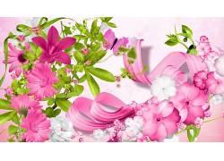 数字艺术,花卉,壁纸370465图片