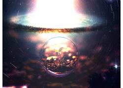 明星,爆炸,水滴,数字艺术,植物9706图片
