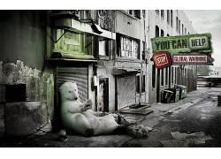 北极熊,数字艺术,动物101104图片