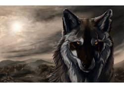 狼,艺术品,数字艺术,动物194724图片