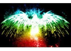 华美,鹰,Fractalius,数字艺术,动物11114图片