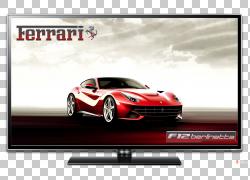 超级跑车法拉利性能汽车汽车设计,汽车PNG剪贴画紧凑型汽车,橙色,