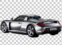 保时捷Carrera GT Porsche 911,保时捷PNG剪贴画汽车,性能汽车,车